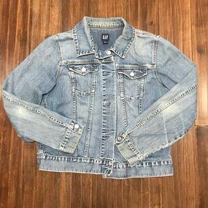GAP women's stretch denim jacket